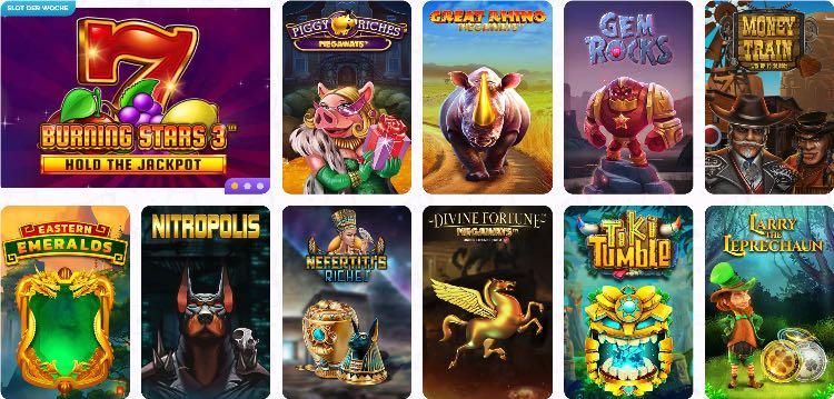 Cadabrus Casino Spieleangebot