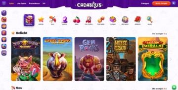 Cadabrus Casino Webseite