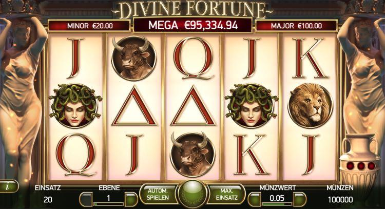 Jackpot Slot Divine Fortune