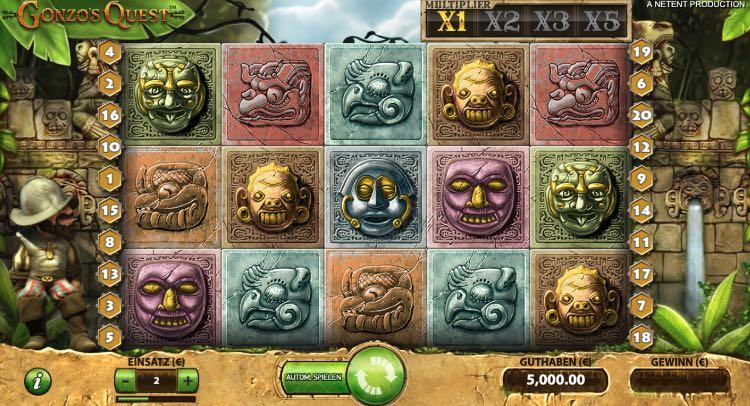 Video Slot Gonzo's Quest