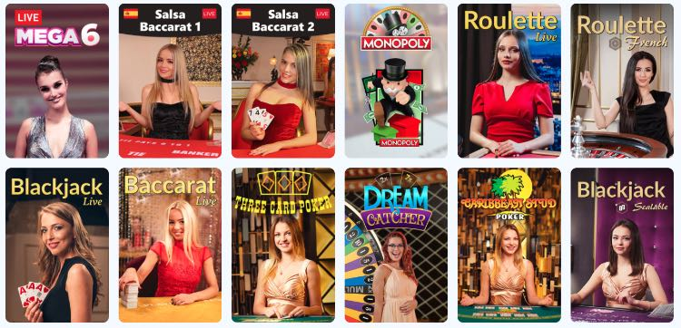 SlotsPalace Live Game Shows