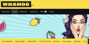 Whamoo Casino Webseite