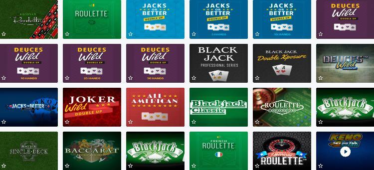 Lucky Wins Casino Tischspiele