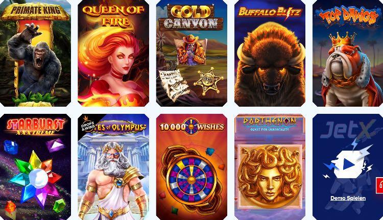Sportaza Casino Spieleangebot
