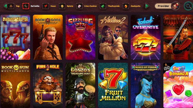 5Gringos Casino Spieleangebot