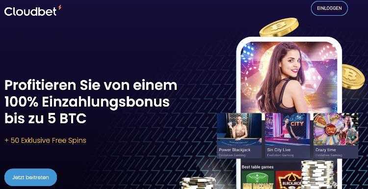 Cloudbet Casino Bonus