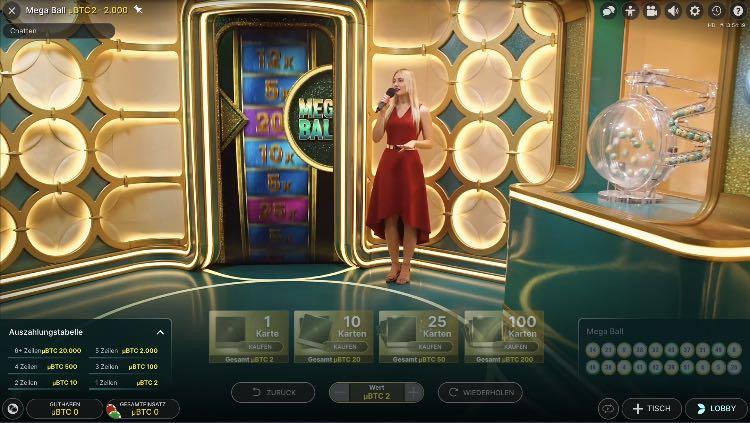 Cloudbet Live Casino