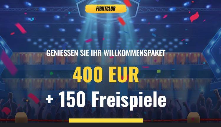 Fight Club Casino Willkommensbonus