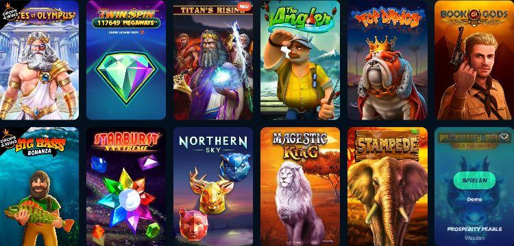 Playzilla Casino Spieleangebot