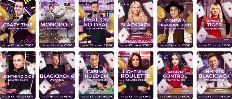 Tsars Live Casino