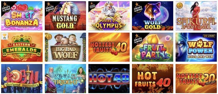 Mr. Bet Casino Spieleangebot