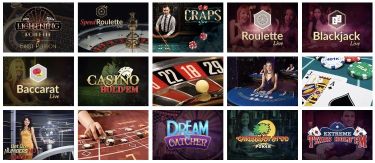 Mr. Bet Live Casino