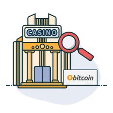 Bitcoin Casino wählen