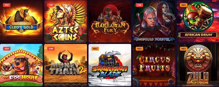 Dazard Casino Spiele